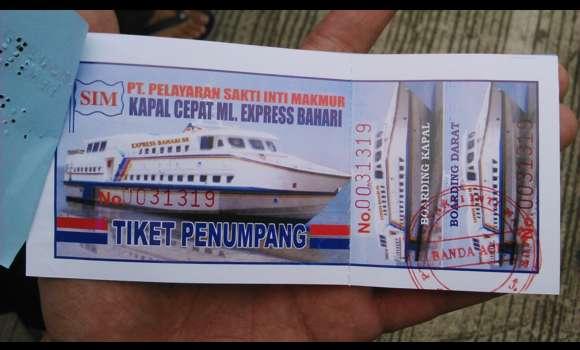 Asik, Tiket Kapal Laut dan Bus akan Dijual Online