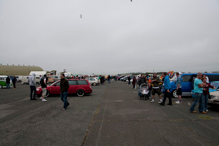Show and Shine classic car show Newquay Cornwall