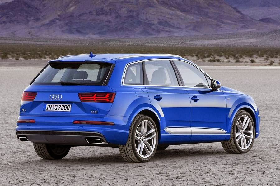 Audi Q7 (2016) Rear Side