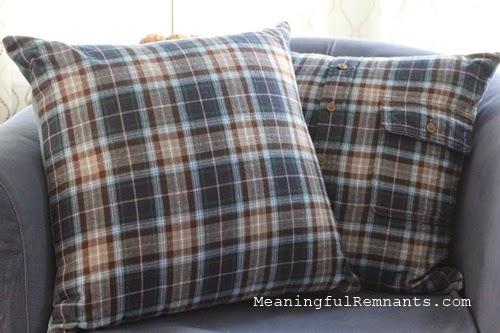 plaid pillows