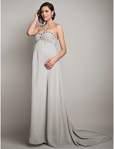 Vestidos largos para embarazadas