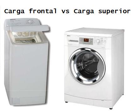 consejo lavadoras de carga frontal vs carga superior