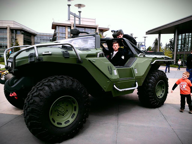 halo - warthog with walshy
