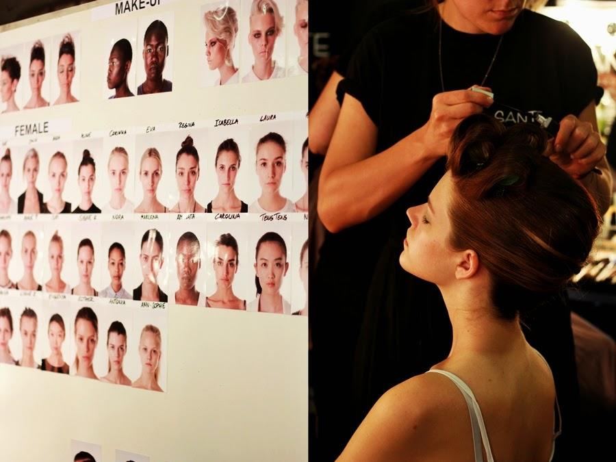 michalsky stylenite fashion week berlin model schminken looks