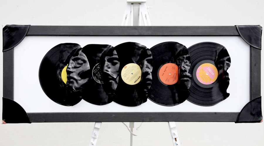 Vinyl Record Wall Decoration