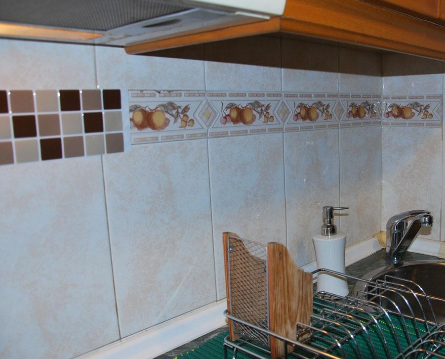 Mar s nchez cervantes blog nuevos cambios en la casa - Cenefas adhesivas cocina ...