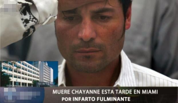 La falsa muerte de Chayanne