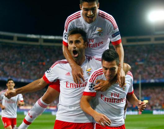 Atlético de Madrid 1 x 2 Benfica - Grupo C / Champions League 2015/16