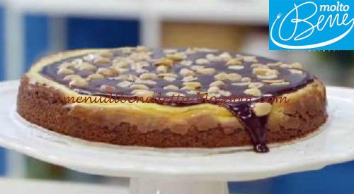 Cheesecake al cioccolato e arachidi ricetta Parodi per Molto Bene