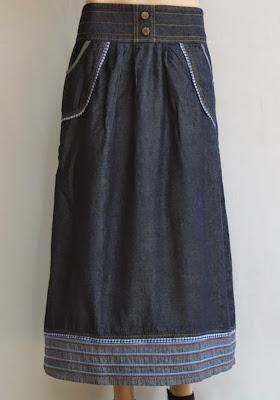 Skirt Jeans Labuh RM327-1