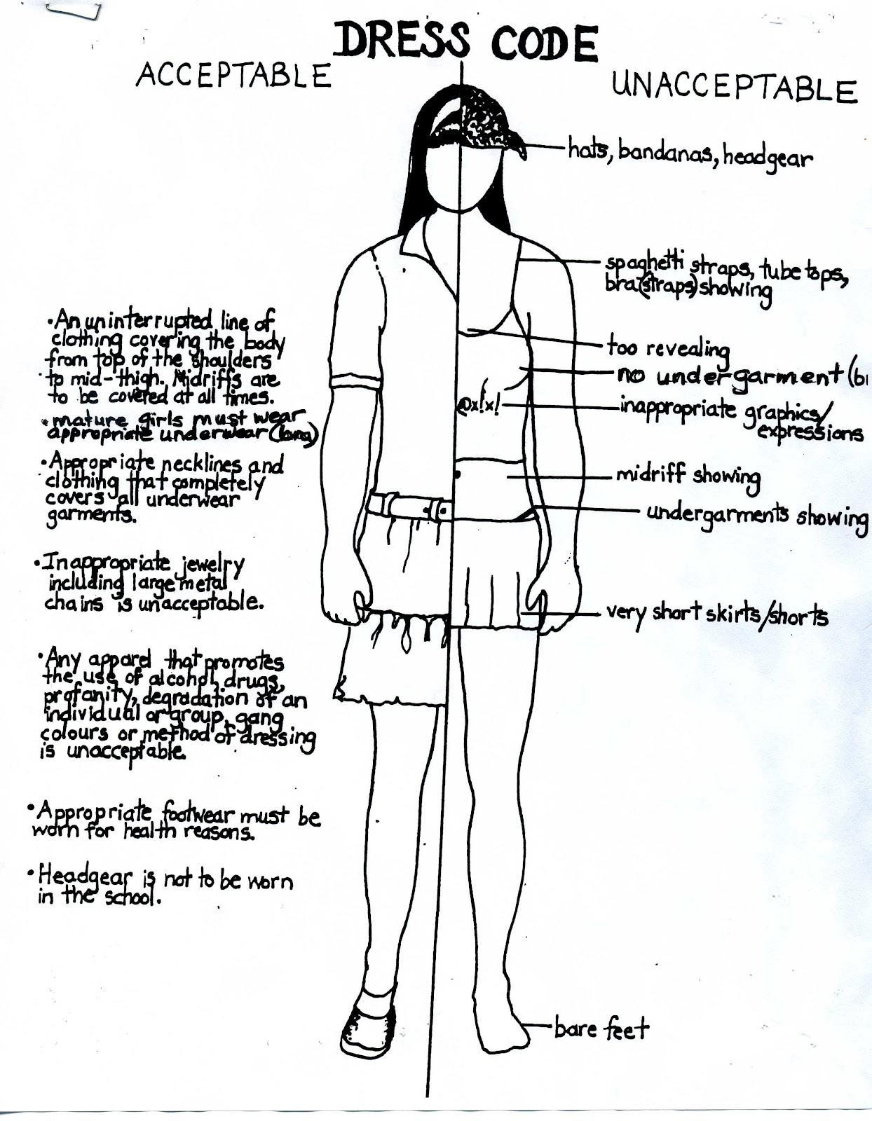 persuasive essay about school dress codes