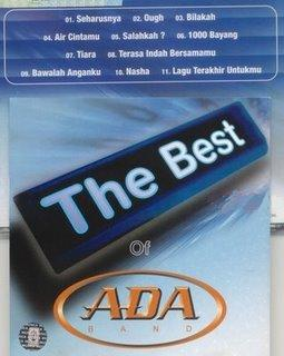ADA BAND The Best Of (2003)