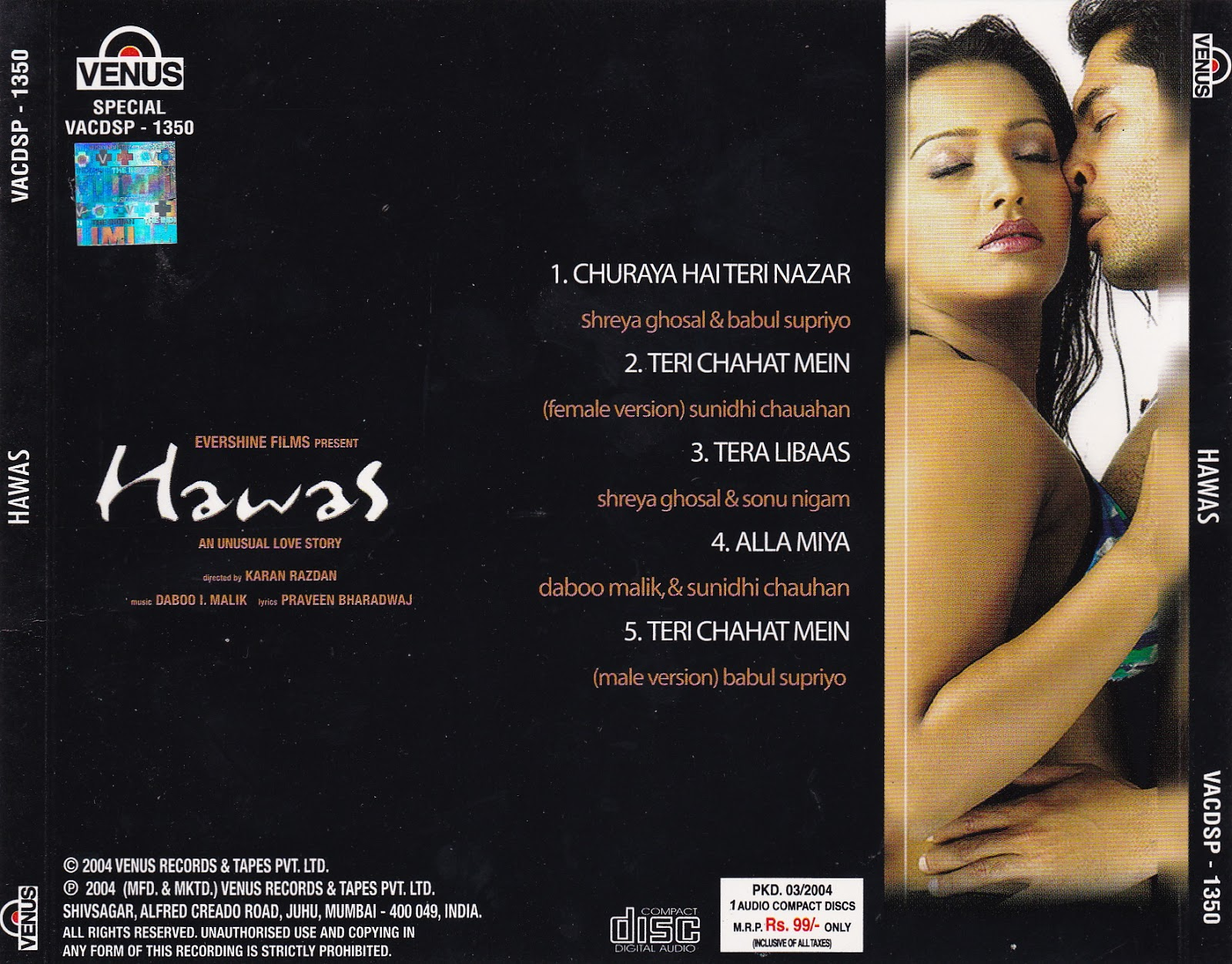 Hawas Movie Mp3 Songs 2004 Hasil Final India Super Series 2014