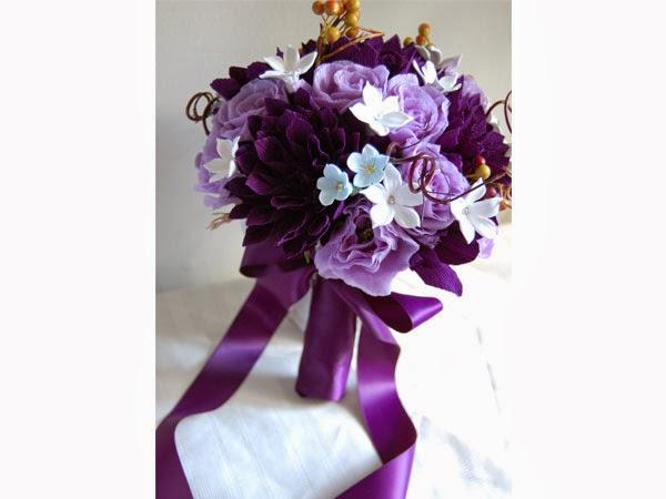 Bouquets y Ramos para Bodas Morados, parte 2