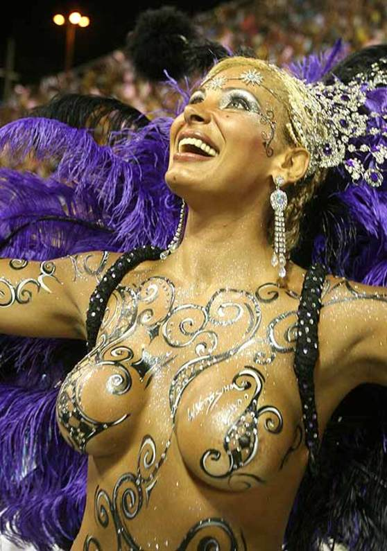 Brazil's Orgasmic Samba and Sex Carnival 2009 - Ângela Bismarchi