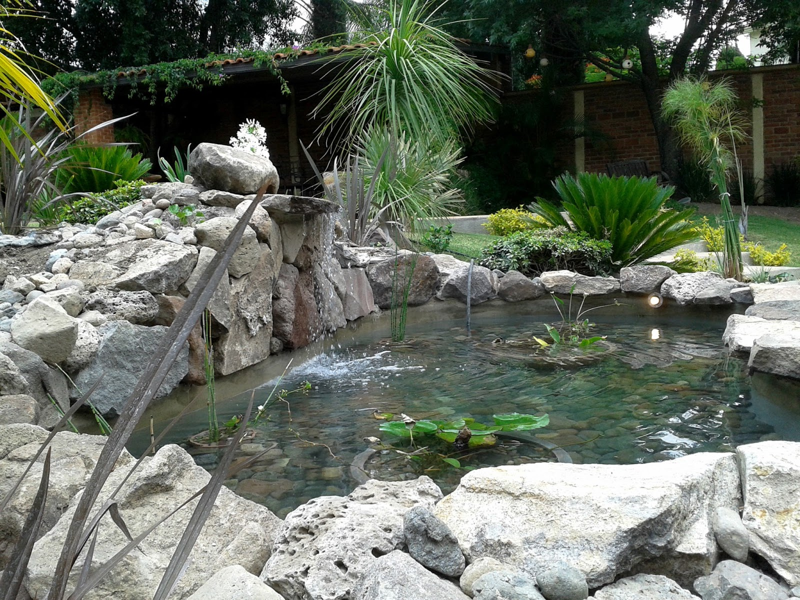 Rivera arquitectos espejo de agua for Estanques de piedra