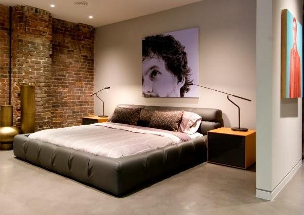 Dise os de dormitorios para solteros dormitorios colores for Disenos de paredes para dormitorios
