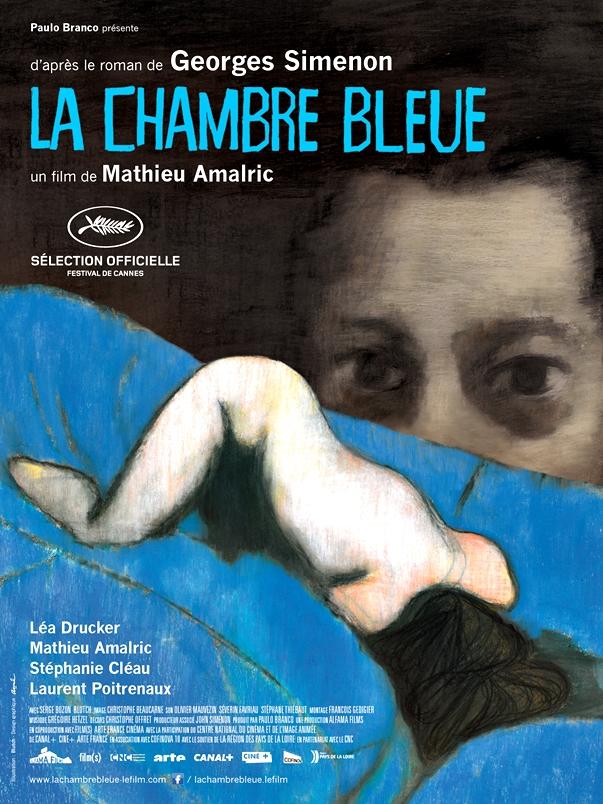 Póster: La habitación azul, de Mathieu Amalric