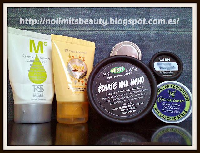 Productos terminados (vol.7): especial cremas de manos, pies y bálsamos