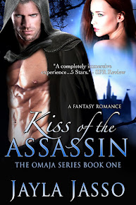 Kiss of the Assassin available now on Amazon
