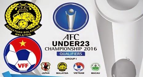 Live Streaming Malaysia vs Vietnam AFC U23 27 3 2015