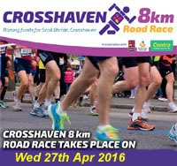 8k in Crosshaven, Co.Cork...Wed 27th Apr