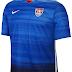 Nike lança nova camisa reserva dos Estados Unidos