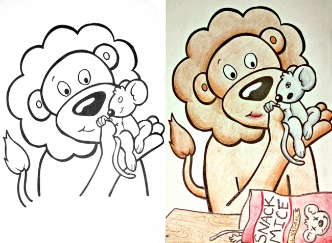 Corrupting Childrens Coloring Books 33 Pics