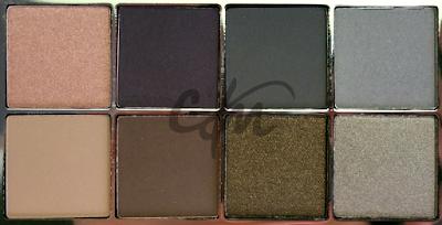 swatch palette kiko collezione cosmic starlet