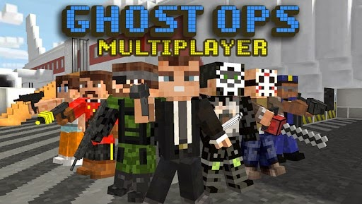 Download Block Gun 3D: Ghost Ops v 1.1.3 Apk Mod (Unlimited Revives)