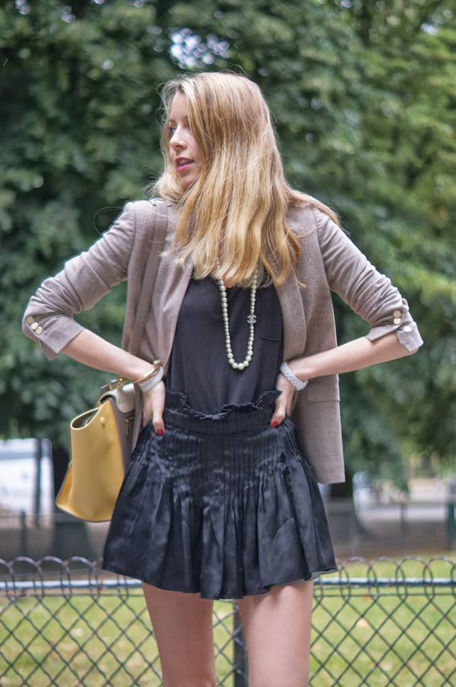 céline, zara, the kooples, chanel, isabel marant, streetstyle, fashion blogger, chic, paris, parisienne