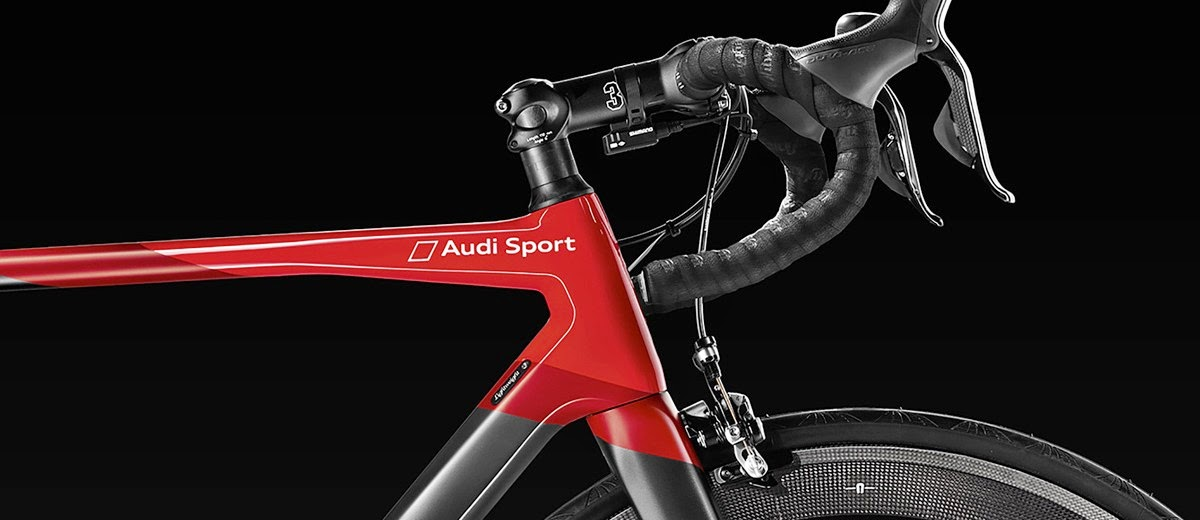 The First Audi Carbon Sport Racing Bike