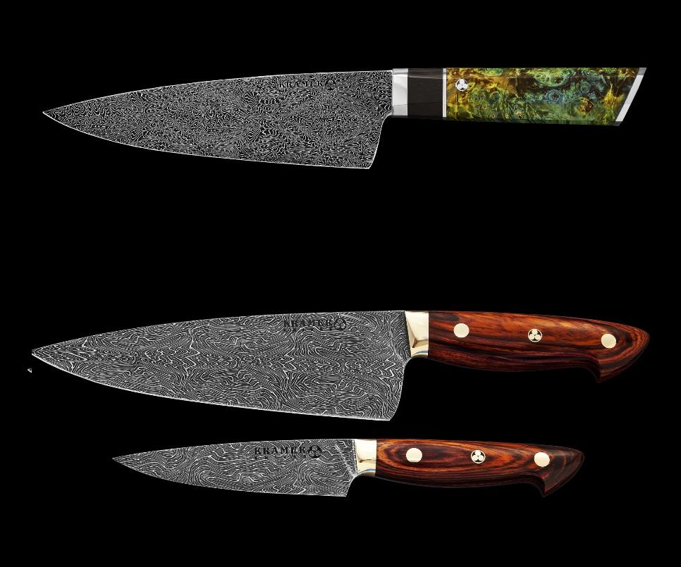 Erdem kocao lu master bladesmith bob kramer kitchen for Kramer knives