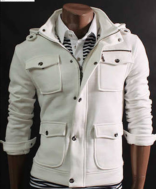 2014 latest white jacket fashion style