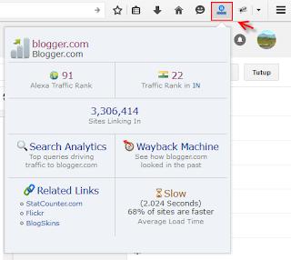 cara memasang alexa toolbar pada browser mozila