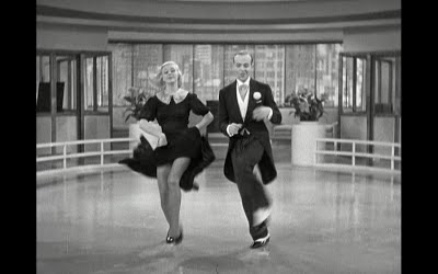 Where band name idea Blood Red Shoes comes from - Swing Time - Ginger Rogers and Fred Astaire