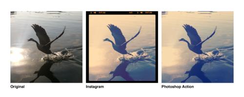 Filtri di Instagram replicati con azioni di Photoshop