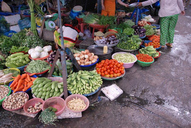 Tham quan chợ Sa Đéc ở Đồng Tháp
