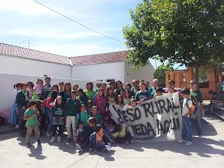 Las protestas educativas continuan en la localidad de Los Santos