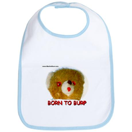 Born To Burp Bib