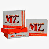 HOT SELLING MURAH GILER MZ SECRET SOAP VIT A C E WITH SCRUBBING GEL RM30