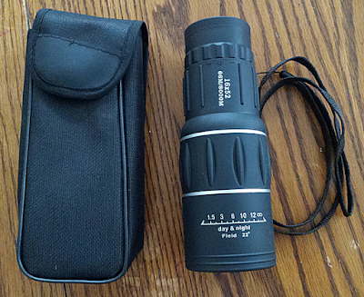 16x52 Waterproof Monocular and Case