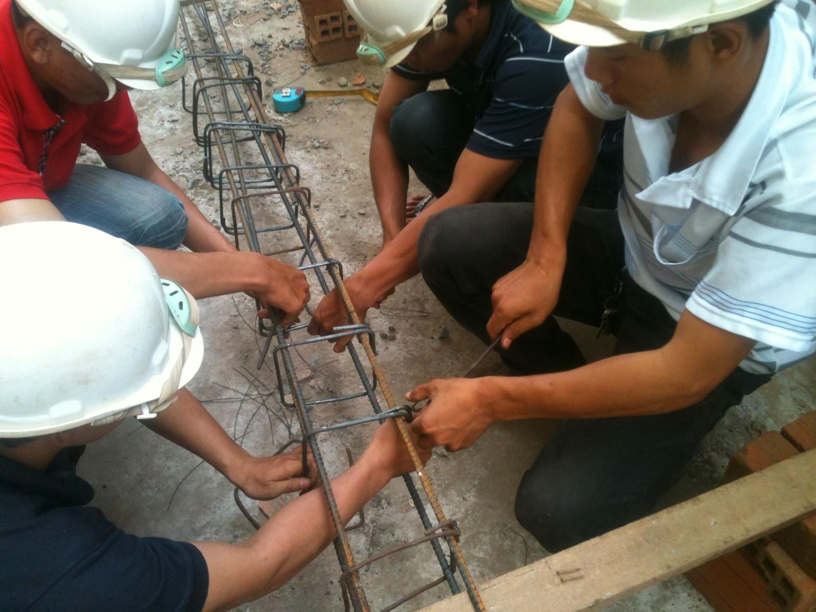Lap Dung Cot Thep Lắp Dựng Cốt Thép Cột