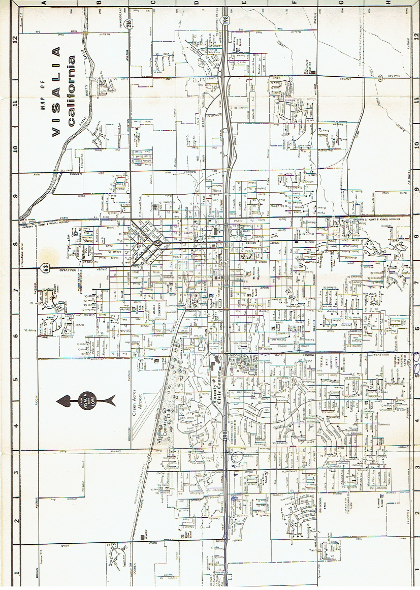 historic happenings another clue the map itself does not show the royal oaks drive cul de sac anyone have an idea when this map was published