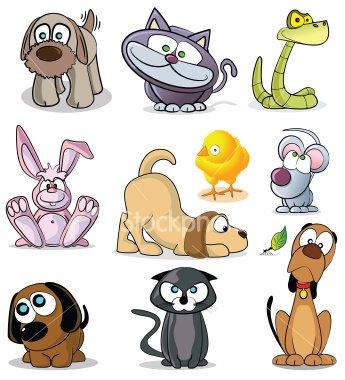 Mascotas para etiquetar