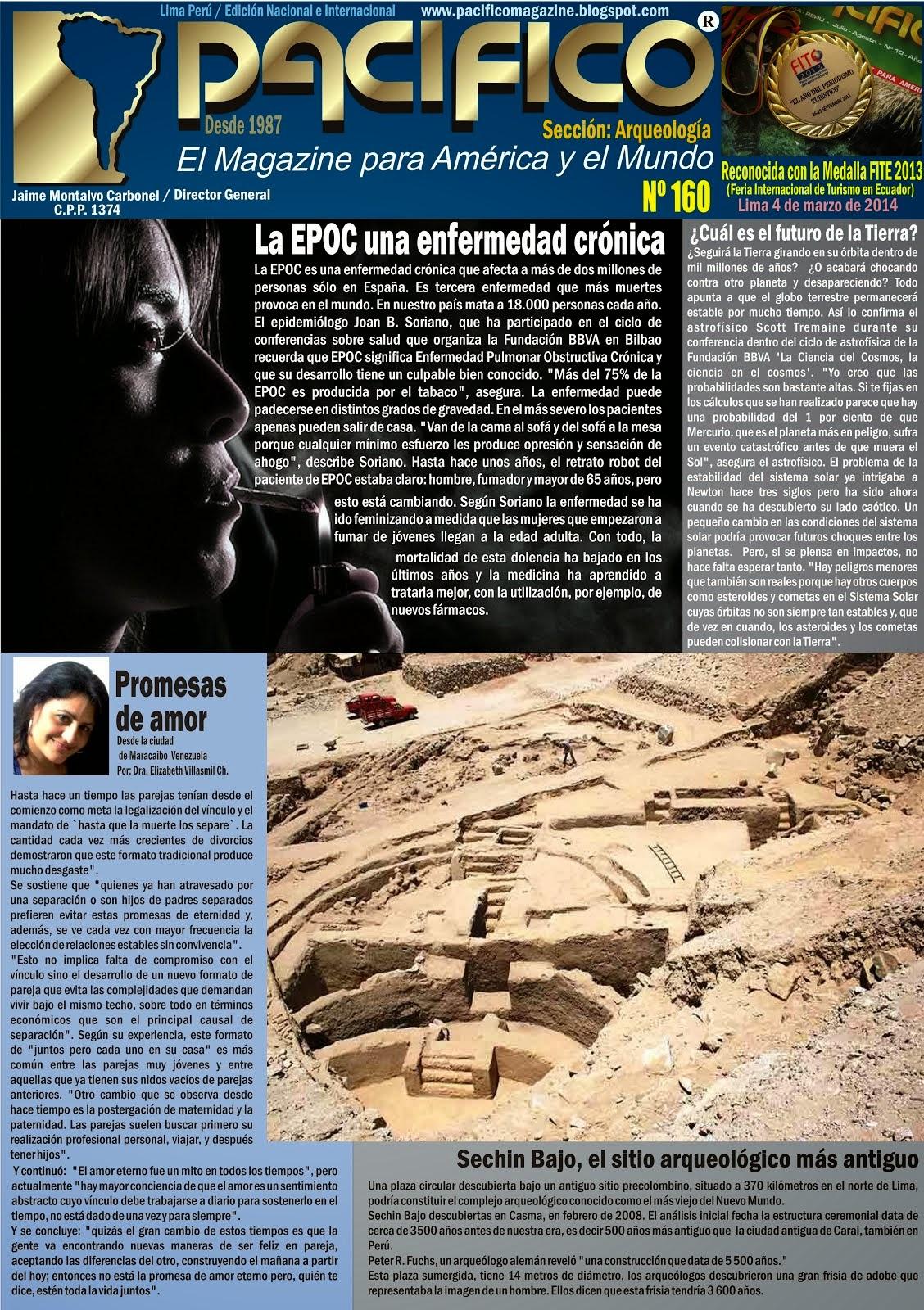 Revista Pacífico Nº 160 Arqueología