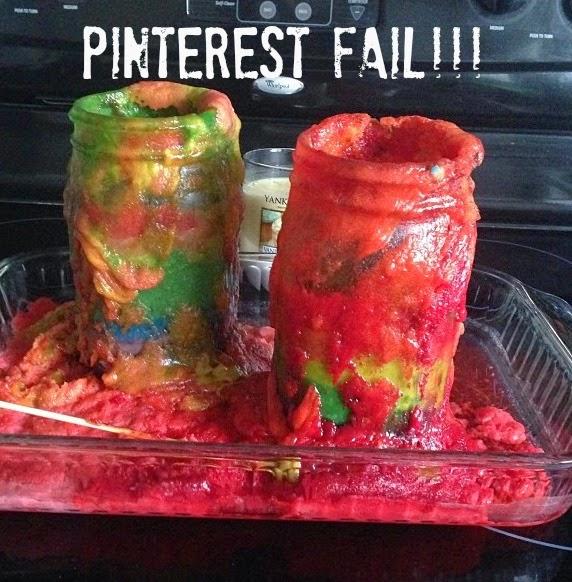 Rainbow Cake Recipe.  How to make a rainbow cake in a jar.  Cake in a mason jar.  Rainbow cake in mason jars.  Pinterest Fails.  Epic Pinterest fails. Good Morning America Pinterest Fails.