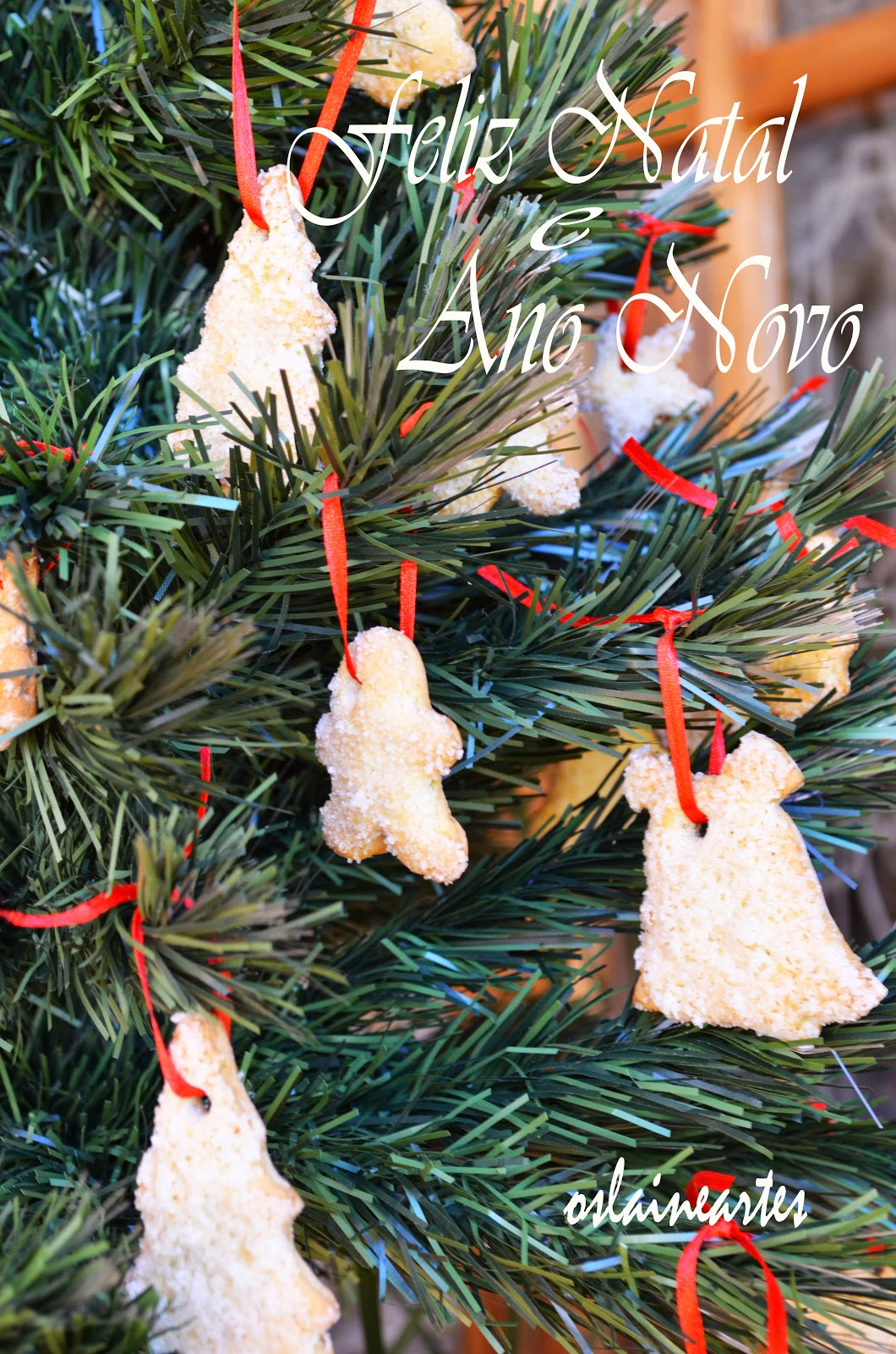 Biscoitos para Decorar a Árvore de Natal