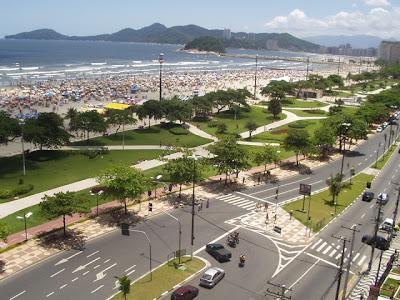 Réveillon em Santos 2014