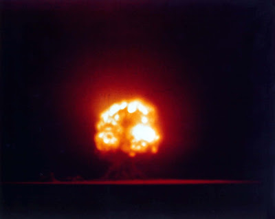 Trinity, the first nuclear weapons test of an atomic bomb